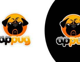 "#208 , ""Pug Face"" logo for new online messaging service 来自 pinky"