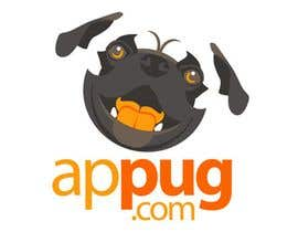 "#29 untuk ""Pug Face"" logo for new online messaging service oleh kimberart"