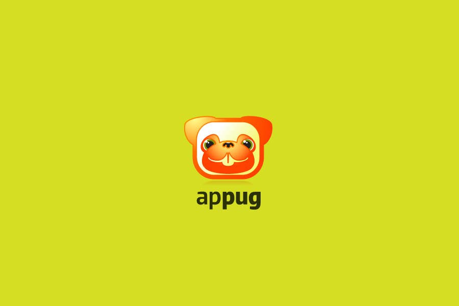 """Contest Entry #                                        144                                      for                                         """"Pug Face"""" logo for new online messaging service"""