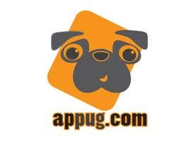 "#113 dla ""Pug Face"" logo for new online messaging service przez Shumiro"