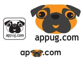 "#80 , ""Pug Face"" logo for new online messaging service 来自 Shumiro"