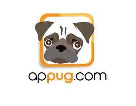 "#75 dla ""Pug Face"" logo for new online messaging service przez dimpboy"