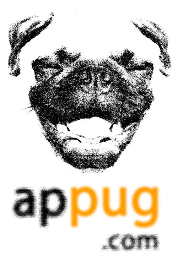 """Contest Entry #                                        232                                      for                                         """"Pug Face"""" logo for new online messaging service"""