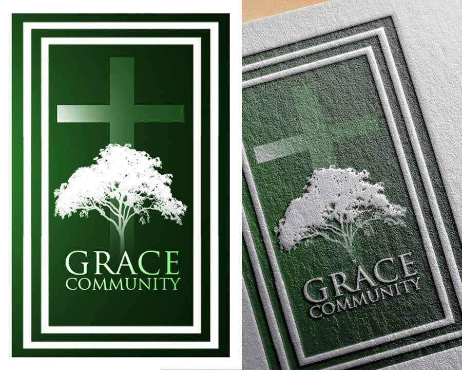 Penyertaan Peraduan #14 untuk Grace Community Logo Contest