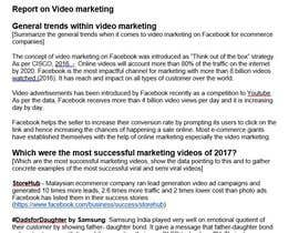 #2 untuk Viedo marketing: research what conecpts and formats work best for ecommerce video marketing oleh vineetbahl
