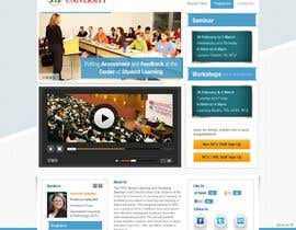 "Nro 26 kilpailuun Website Design for Seminar: ""Putting Assessment and Feedback at the Center of Student Learning"" käyttäjältä iNoesis"