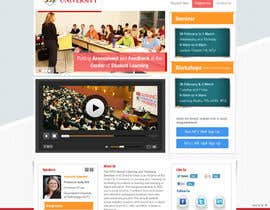 "Nro 27 kilpailuun Website Design for Seminar: ""Putting Assessment and Feedback at the Center of Student Learning"" käyttäjältä iNoesis"