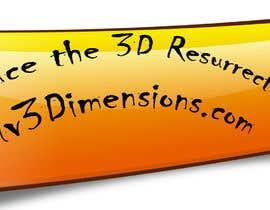 #7 untuk Design custom artwork with our brand for paper 3D glasses oleh sabir211