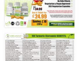 #10 for OrganiVit Retail Leaflet A5 Landscape by ahmadyusuf1998