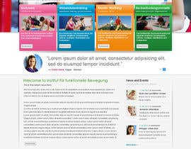 gaf001 tarafından Wordpress Theme Design for Institut für funktionelle Bewegung için no 19