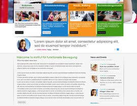 #11 para Wordpress Theme Design for Institut für funktionelle Bewegung por gaf001