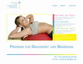 IGconcept tarafından Wordpress Theme Design for Institut für funktionelle Bewegung için no 1