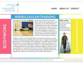#3 para Wordpress Theme Design for Institut für funktionelle Bewegung por ldaniluk