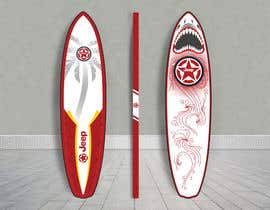 #5 for Design Me a Surf Board by mandaldibyendu