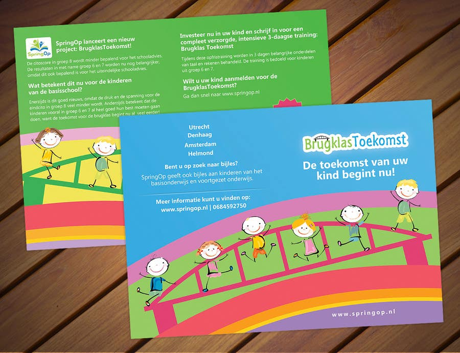 Entry by pris for design a brochure for kids in primary school