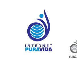 #66 for Logo Design for  Internet Pura Vida af ImArtist