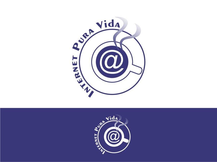 Inscrição nº                                         78                                      do Concurso para                                         Logo Design for  Internet Pura Vida