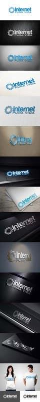 Miniatura da Inscrição nº                                                 72                                              do Concurso para                                                 Logo Design for  Internet Pura Vida