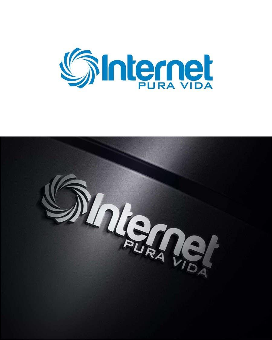 Inscrição nº                                         46                                      do Concurso para                                         Logo Design for  Internet Pura Vida