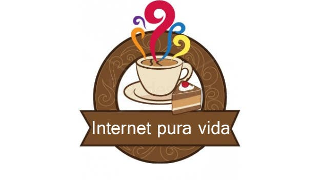 Inscrição nº                                         25                                      do Concurso para                                         Logo Design for  Internet Pura Vida