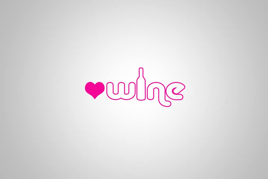 #282 for Logo Design for Heart Wine (love wine) by wezz1