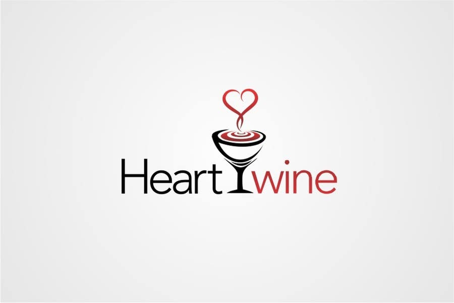 #73 for Logo Design for Heart Wine (love wine) by jummachangezi