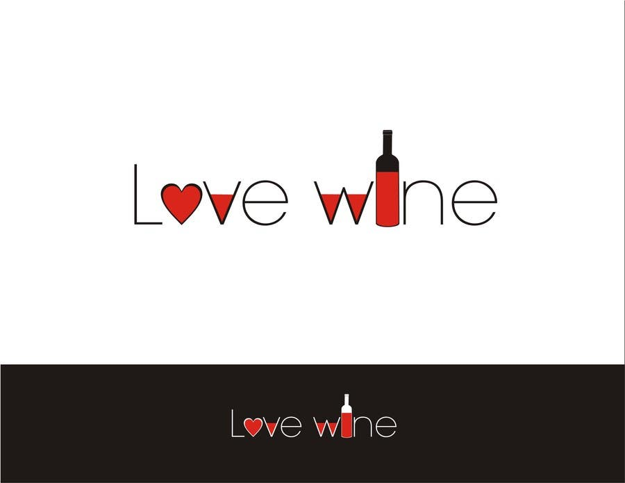#290 for Logo Design for Heart Wine (love wine) by soopank20april