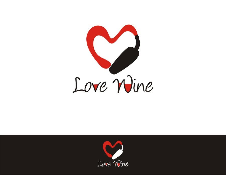#295 for Logo Design for Heart Wine (love wine) by soopank20april