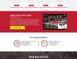 nikil02an tarafından Design a Website Mockup for Liquor Store için no 46