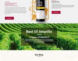 webmastersud tarafından Design a Website Mockup for Liquor Store için no 29