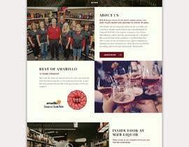 bashasibuan tarafından Design a Website Mockup for Liquor Store için no 38