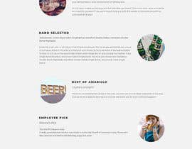 navuthakur tarafından Design a Website Mockup for Liquor Store için no 17