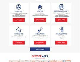 #20 for Design a Website Mockup for AC & Heating Company by imamgodzali