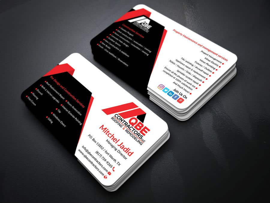 Entry #67 by Jadid91 for Design some Business Cards   Freelancer