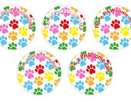 #6 for Paw Print Button Design by LibbyDriscoll