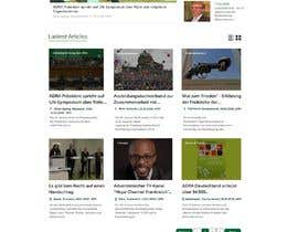 #148 for New layout for news agency website by Aloknano