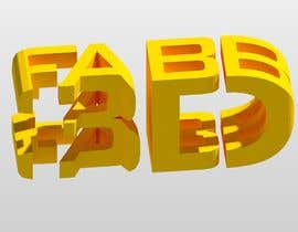 #4 for Combined 2D and 3D Logo for 3D printing / CAD service by jjrodl