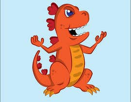 #7 cho Dinosaur cartoon character - graphic design needed. bởi Tszocske