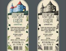"#5 for Design label ""Olimski eliksir"" by romanpetsa"