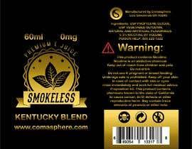 t4jke tarafından Label Design for E-liquid Brand için no 9