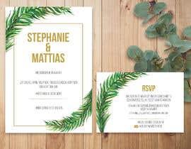 #33 for Wedding invitation af desireedelcarmen