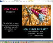 Bài tham dự #16 về Graphic Design cho cuộc thi Design a Flyer for a New Years Eve Sleep Over Party