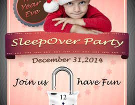 #17 cho Design a Flyer for a New Years Eve Sleep Over Party bởi Fittiani