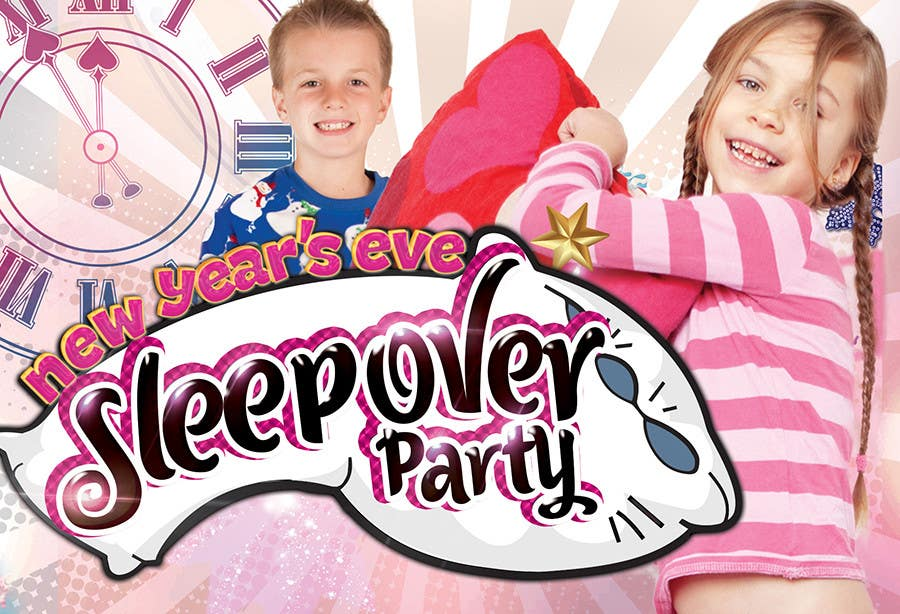 Bài tham dự cuộc thi #                                        12                                      cho                                         Design a Flyer for a New Years Eve Sleep Over Party