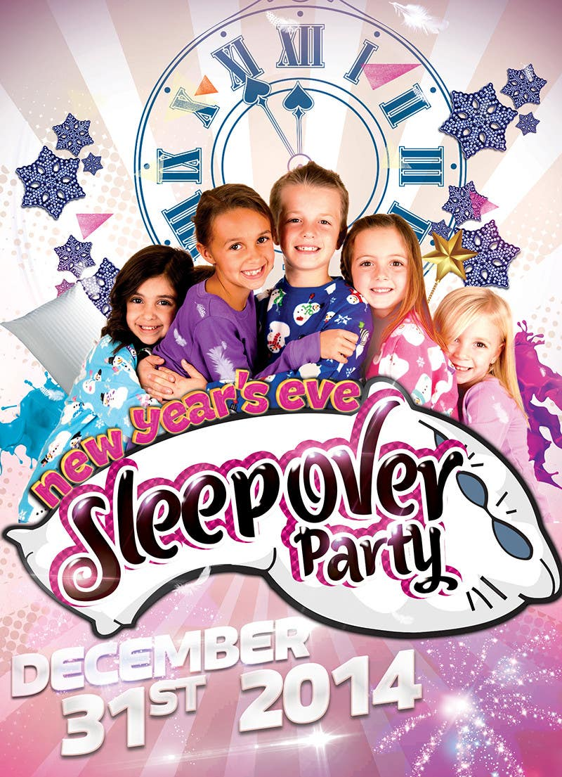 Bài tham dự cuộc thi #                                        15                                      cho                                         Design a Flyer for a New Years Eve Sleep Over Party