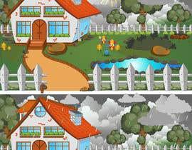 #74 untuk Create backgrounds and cartoon character for song oleh Bateriacrist