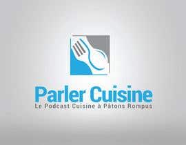 #95 for Concevoir un nouveau logo de podcast culinaire by moun06