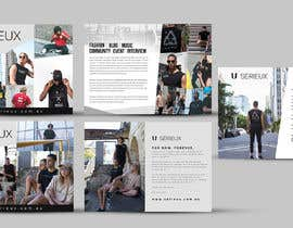 #30 for Design a Streetwear Labels wholesale buyer book (Cover pages 2x, intro page, business page, business information and contact details) by ephdesign13