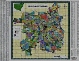 Nro 10 kilpailuun Extract resources from hi res pdf file to make a large district map, soft copy finished product käyttäjältä kashmiranarain