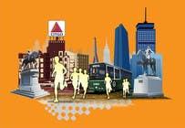 Bài tham dự #7 về Graphic Design cho cuộc thi Illustration Design for Generic Runners in Boston